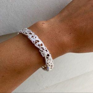 Jewelry - Dainty Silver Stretch Bracelet